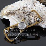 Carabiner Spinner Gold (2)