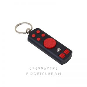 Fidget Remote Spinner - Black Red