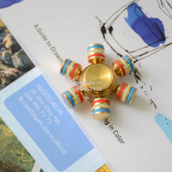 Fiesta Pinata Spinner Brass (3)