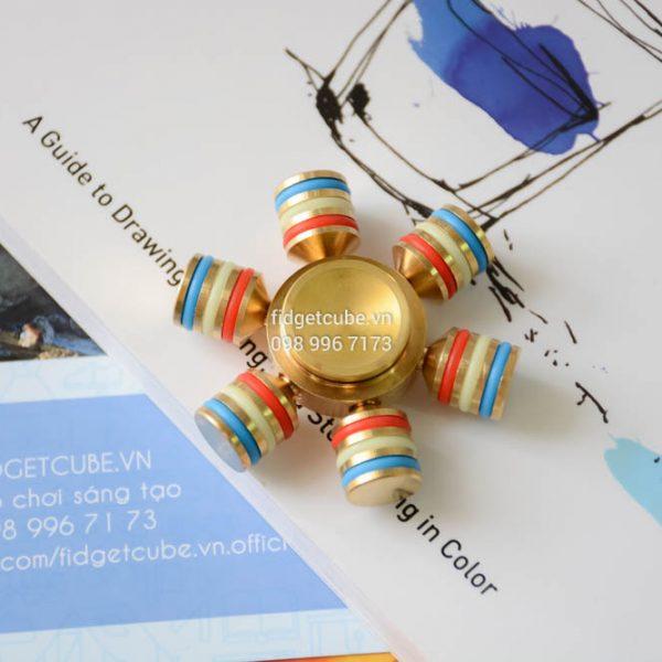 Fiesta Pinata Spinner Brass (5)