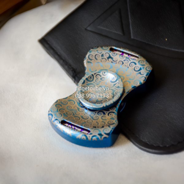 PCC Stubby Spinner Blue Floral Pattern (2)
