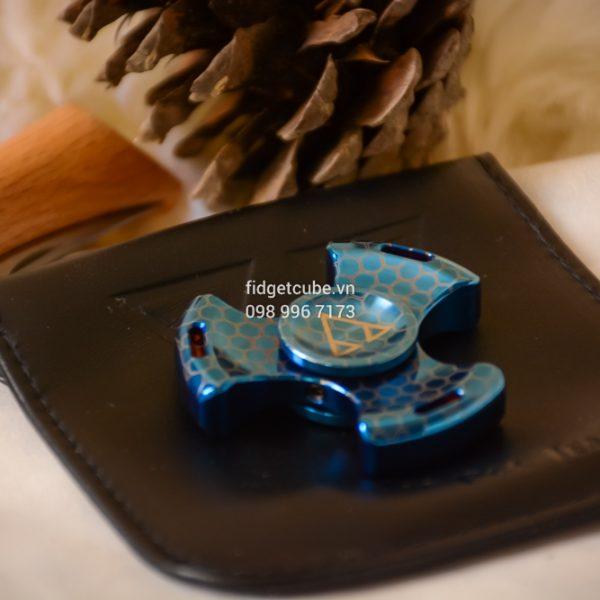 PCC Stubby Spinner Blue Hexa (1)