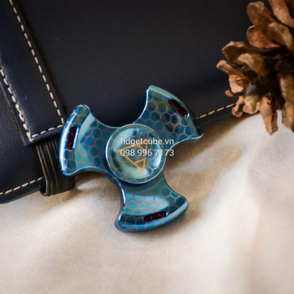 PCC Stubby Spinner Blue Hexa (3)