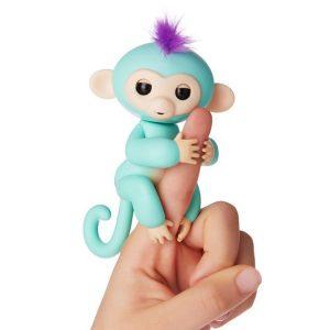 Finger Monkey Đồ Chơi Tương Tác Khỉ Ngón Tay - Zoe Màu Xanh