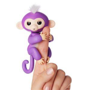 Finger Monkey Đồ Chơi Tương Tác Khỉ Ngón Tay - Mia Màu Tím