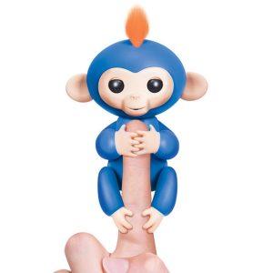 Finger Monkey Đồ Chơi Tương Tác Khỉ Ngón Tay - Boris Màu Xanh