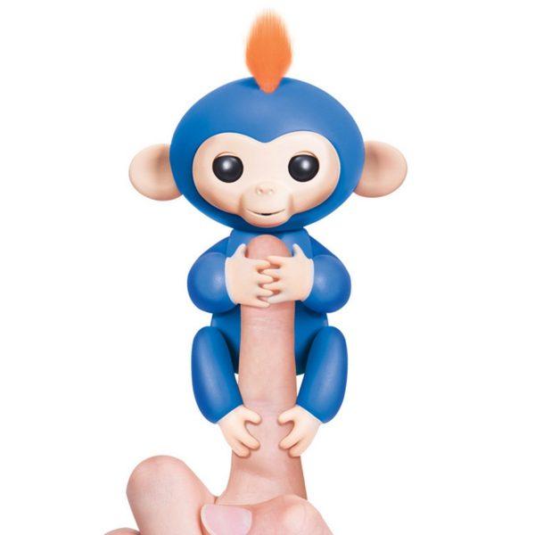 Finger Monkey Đồ Chơi Tương Tác Khỉ Ngón Tay – Boris Màu Xanh