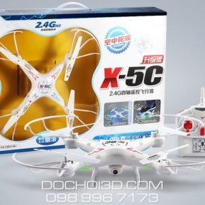 Máy Bay Điều Khiển Từ Xa 4 Cánh Drone X5C (Không Camera)