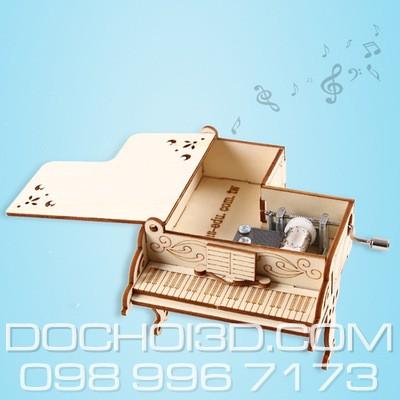 Dan Piano lap ghep hop nhac go (1)