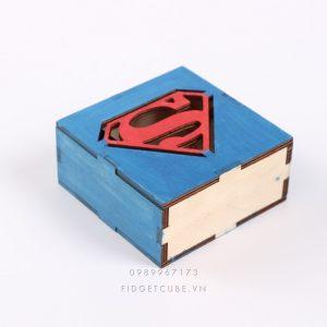 Bộ Lắp Ráp Đèn Ngủ Phát Sáng Hình Siêu Nhân Superman