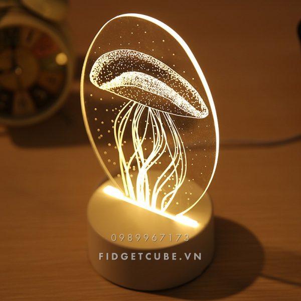 Den ngu LED 3D H9