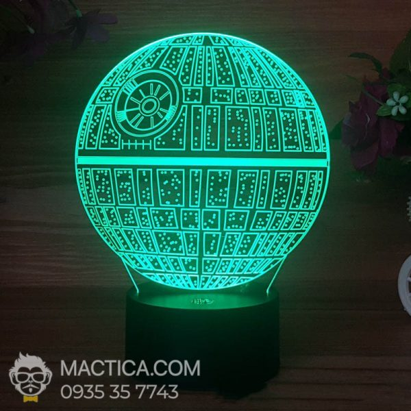 Den LED 3D Death Star (3)