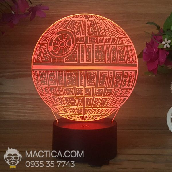Den LED 3D Death Star (4)