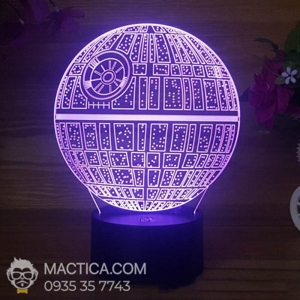 Den LED 3D Death Star (5)