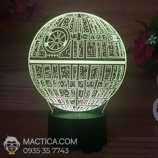 Den LED 3D Death Star (6)